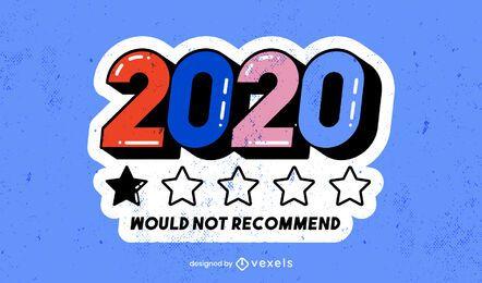 2020 no recomendaría diseño de ilustración