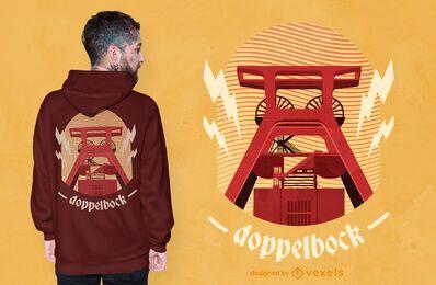 Zeche Zollverein t-shirt design