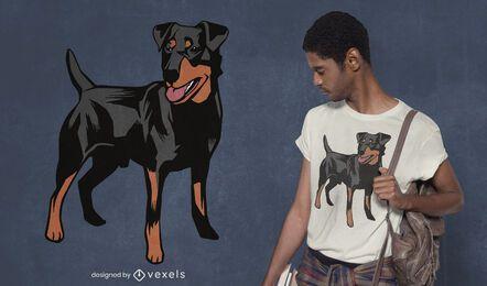 German hound t-shirt design