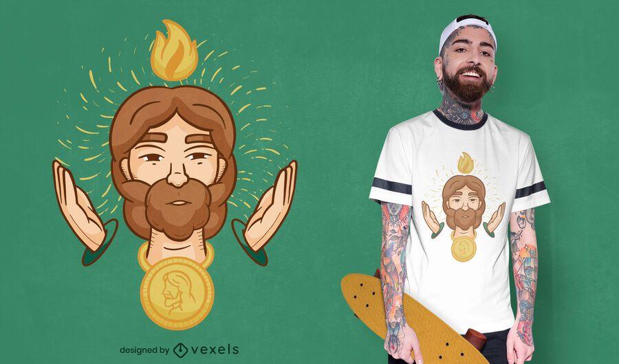 Saint jude t-shirt design