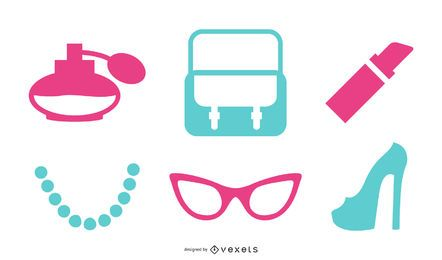 Vector female accessories Pack