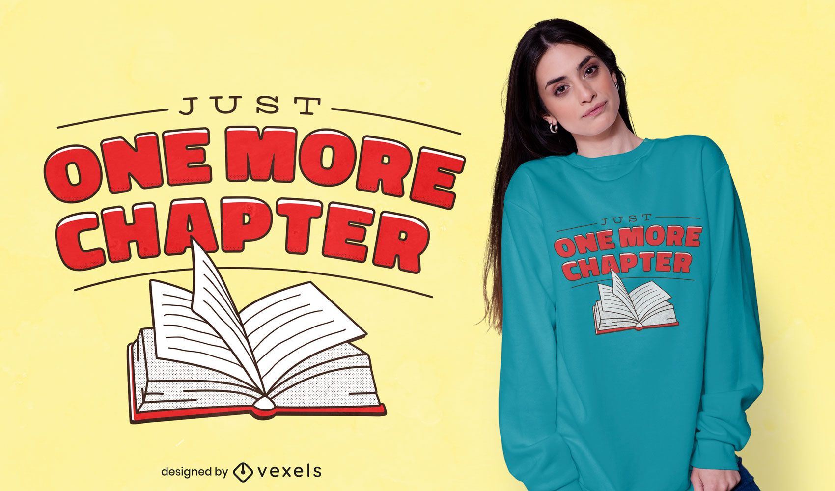 Diseño de camiseta de un capítulo más