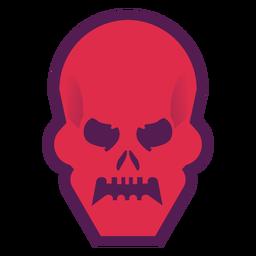Angry skull logo