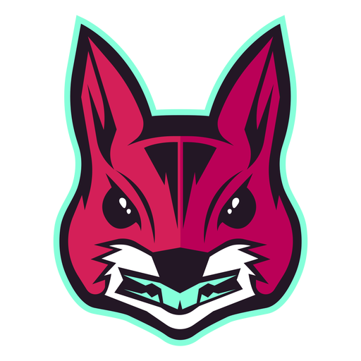 Angry squirrel logo