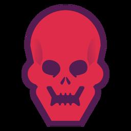 Logotipo de calavera brutal