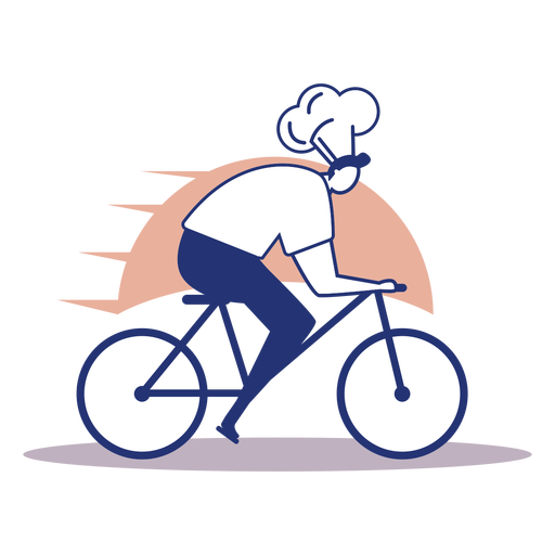 Chef delivery logo Transparent PNG