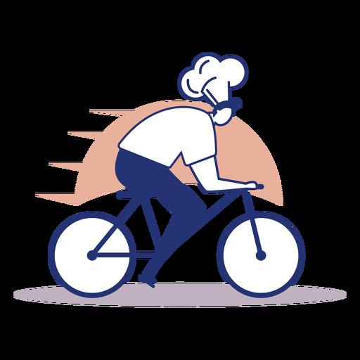 Logotipo de entrega de chef