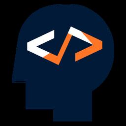Logotipo da programação de computador