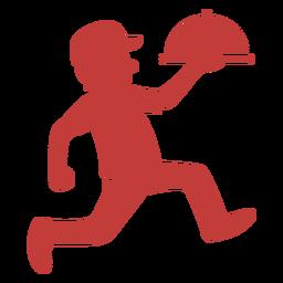 Logotipo del repartidor