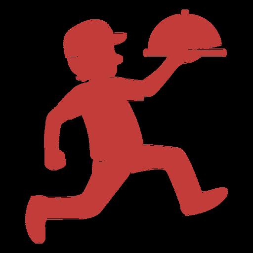 Delivery man logo