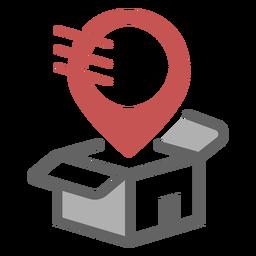 Logotipo do local de entrega