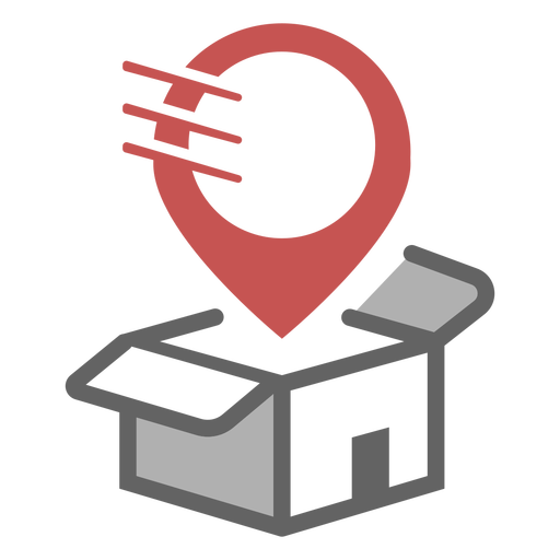 Delivery place logo Transparent PNG