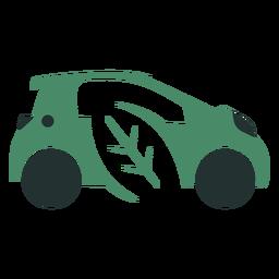 Logotipo del coche ecológico