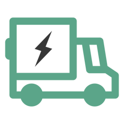 Electric truck logo