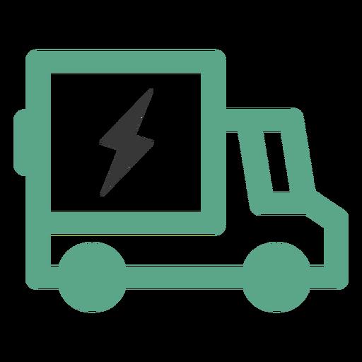 Electric truck logo