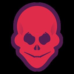 Logotipo de calavera malvada