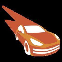 Logotipo de coche de alta velocidad