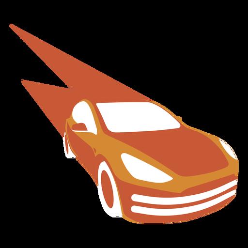 Fast speeding car logo
