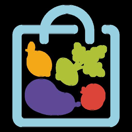 Groceries bag logo