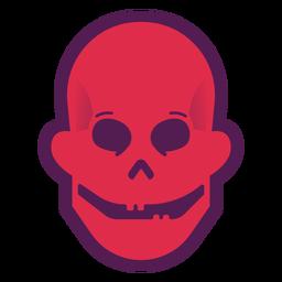 Happy skull logo