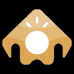 Ícone de pessoa arma logotipo