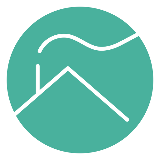 Logotipo de la casa minimalista
