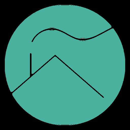 Minimalistic house logo