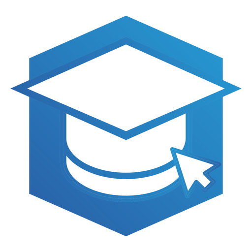 Online school logo Transparent PNG