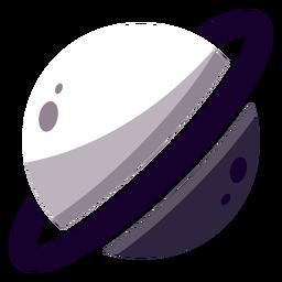 Logotipo del planeta saturno