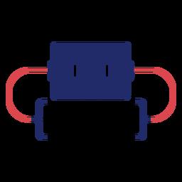 Logotipo dos colchetes de programação
