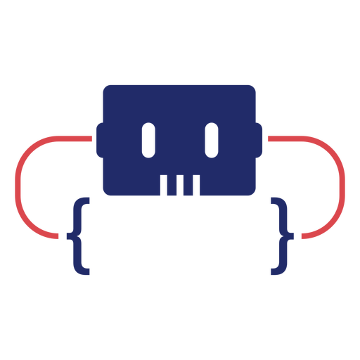 Logotipo de soportes de programación Transparent PNG