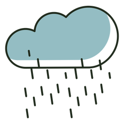 Raining cloud logo
