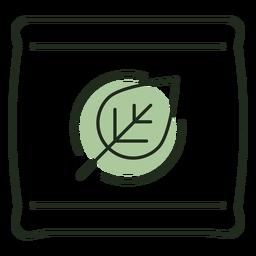 Logotipo de la bolsa de semillas