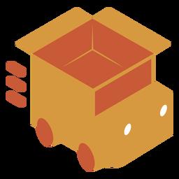 Logotipo de camión de envío
