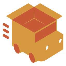 Shipping truck logo