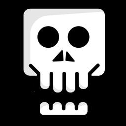 Logotipo de la ilustración del cráneo