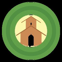 Logotipo de granero estable