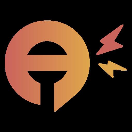 Talking on mic logo