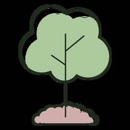 Tree planted logo
