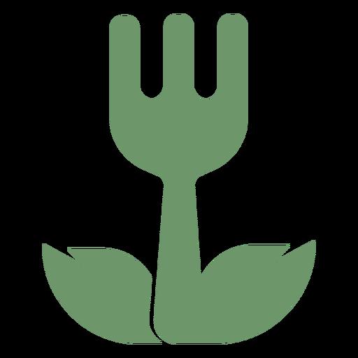 Logotipo de comida vegetariana