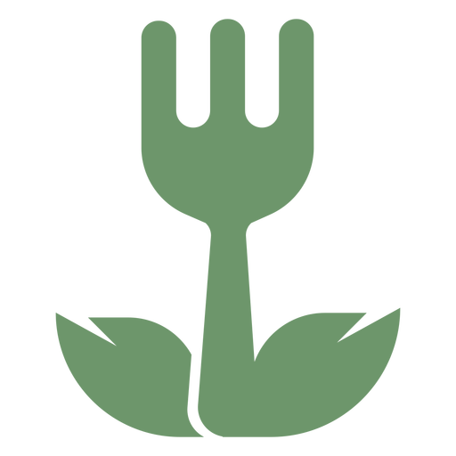 Vegetarian food logo