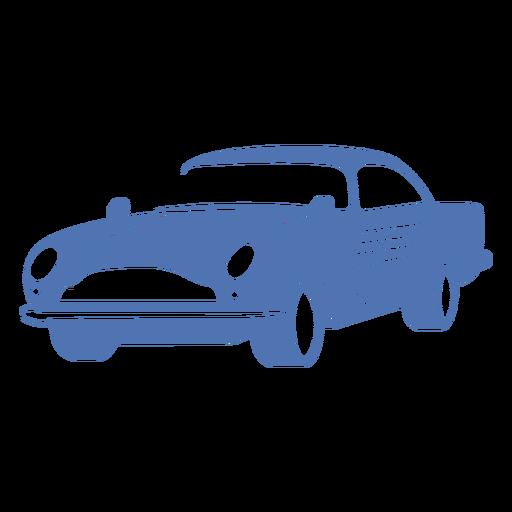 Vintage sports car logo