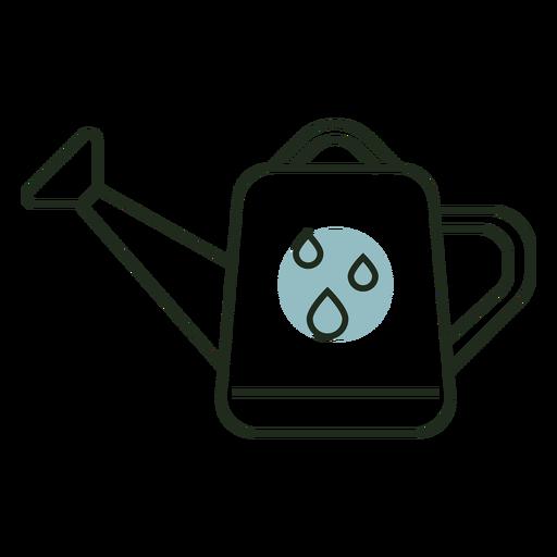 Logotipo de regadera