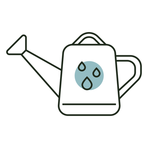 Watering can logo