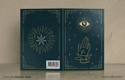 Diseño de portada de libro místico