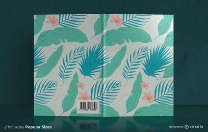 Design da capa do livro da natureza