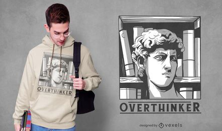 Design de camiseta de David Overthinker