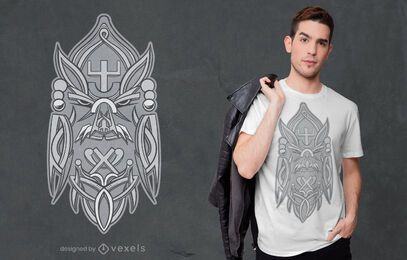 Odin rune t-shirt design