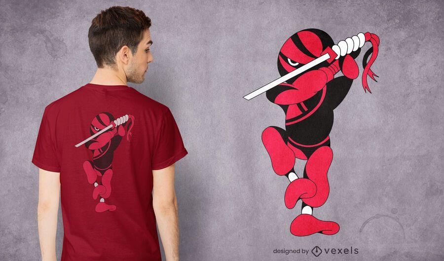Ninja ninjaken t-shirt design