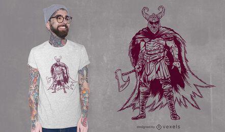 Odin posiert T-Shirt Design